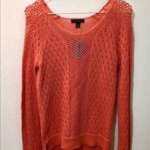 Willi Smith Coral Sweater NWT